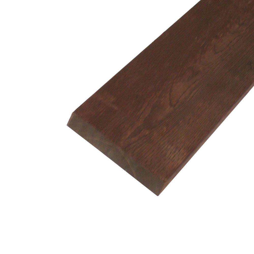 null Pressure-Treated Lumber HF Brown Stain (Common: 2 in. x 10 in. x 8 ft.; Actual: 1.5 in. x 9.25 in. x 96 in.)