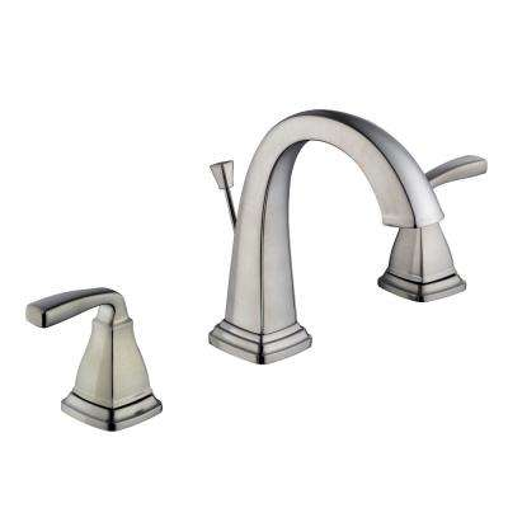 Mason 8 in. Widespread 2-Handle High-Arc Bathroom Faucet in Brushed Nickel