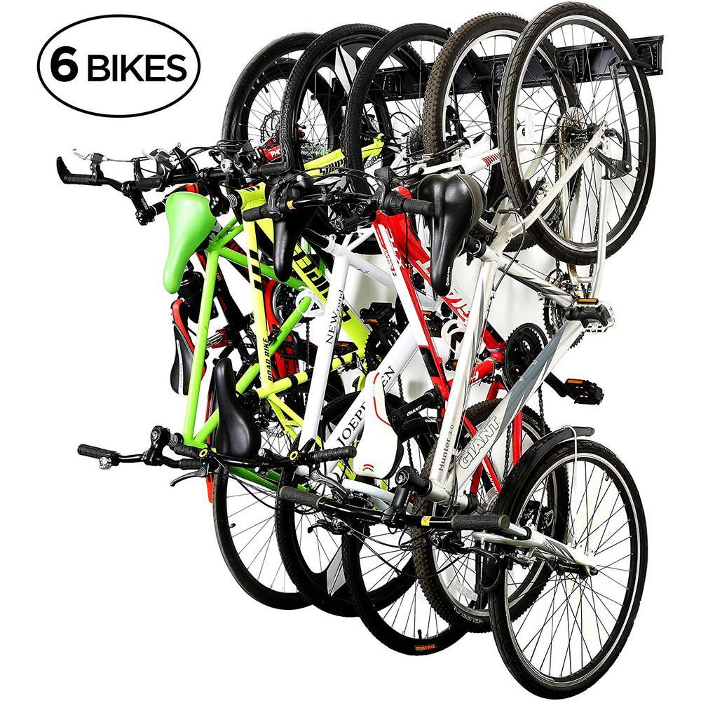 2Pc Bike Racks Wall Mounted Flip-Up Heavy Duty Hanger Bike Hooks for Bicycle