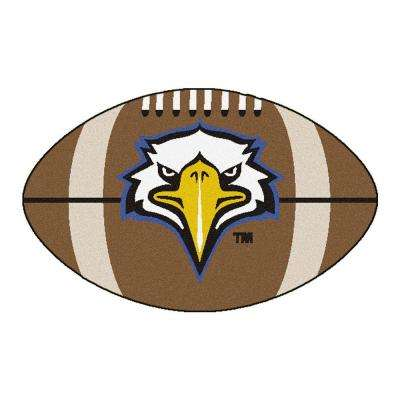 NCAA Morehead State University Brown 1 ft. 10 in. x 2 ft. 11 in. Specialty Accent Rug