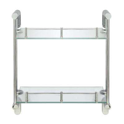 Glass - Bathroom Shelves - Bathroom Cabinets & Storage - The Home Depot