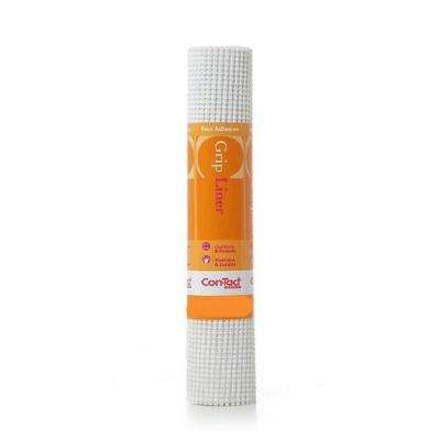 Grip Liner 20 in. x 5 ft. Solid White Non-Adhesive Grip Drawer and Shelf Liner (6 Rolls)