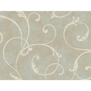 York Wallcoverings Delicate Scroll Wallpaper by York Wallcoverings