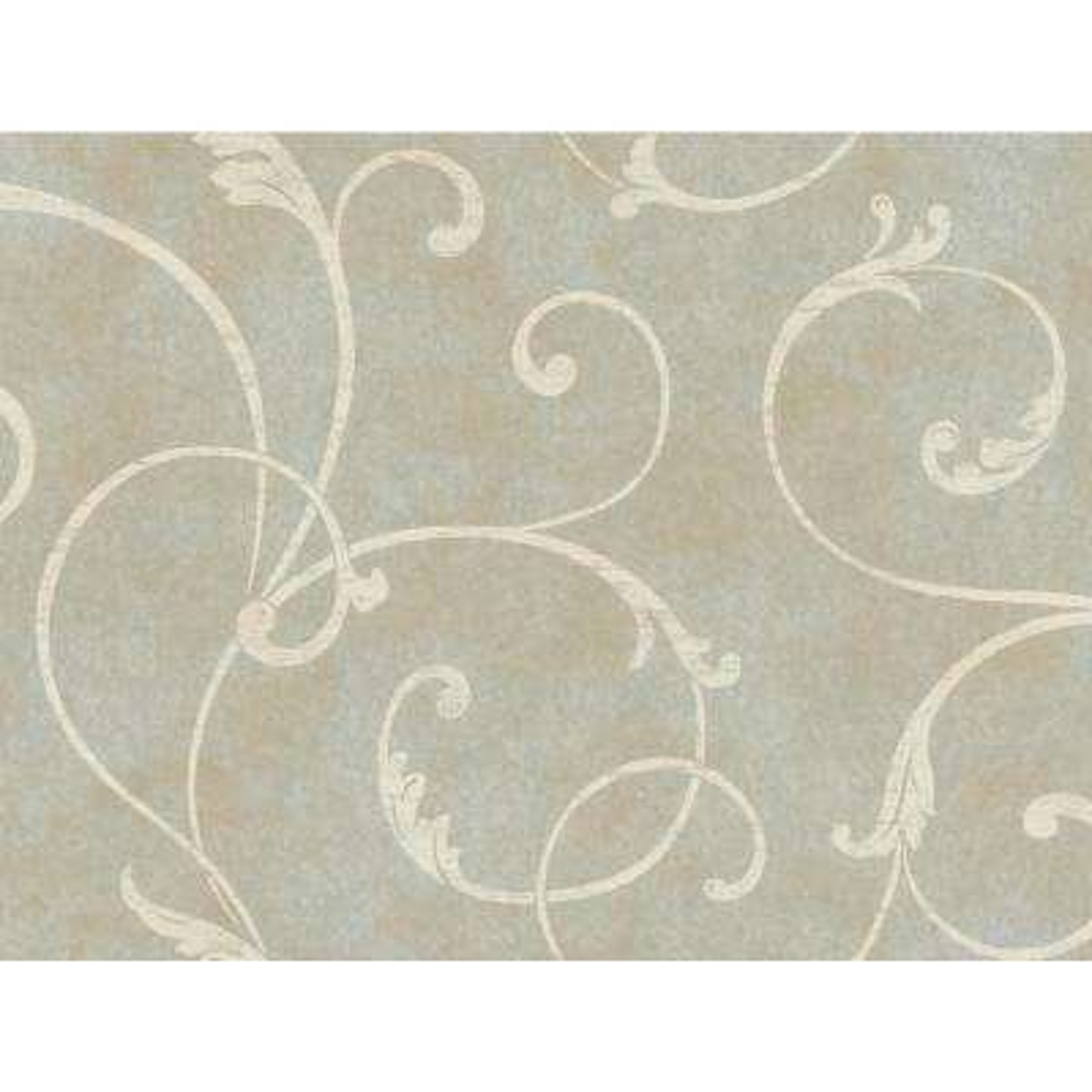 Delicate Scroll Wallpaper