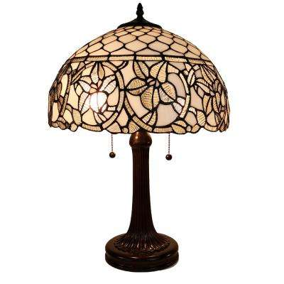 24 in. Tiffany Style Floral Table Lamp