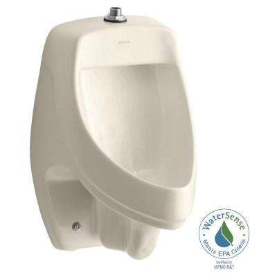 Dexter 0.5 or 1.0 GPF Urinal with Top Spud in Almond