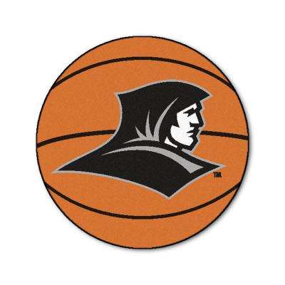 NCAA Providence College Orange 2 ft. x 2 ft. Round Area Rug