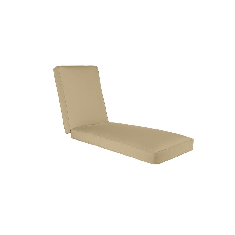 Brown Jordan Vineyard Replacement Outdoor Chaise Cushion in Meadow ...