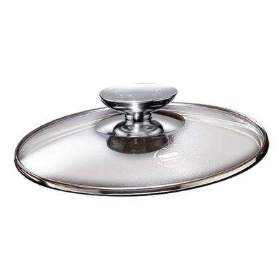 SignoCast 13 in. Glass Lid with Stainless Knob