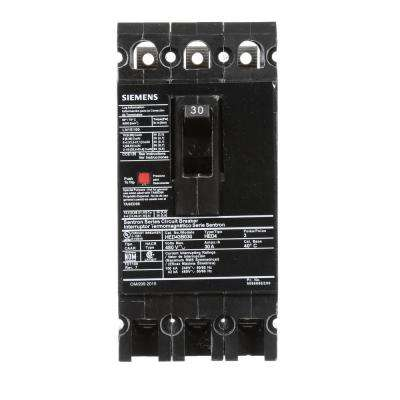 30 Amp 3-Pole Type ED 42 kA Circuit Breaker
