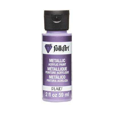 2-oz. Amethyst Metallic Craft Paint