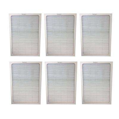 Replacement Blueair 500 and 600 Series Air Purifier Filters (6-Pack)