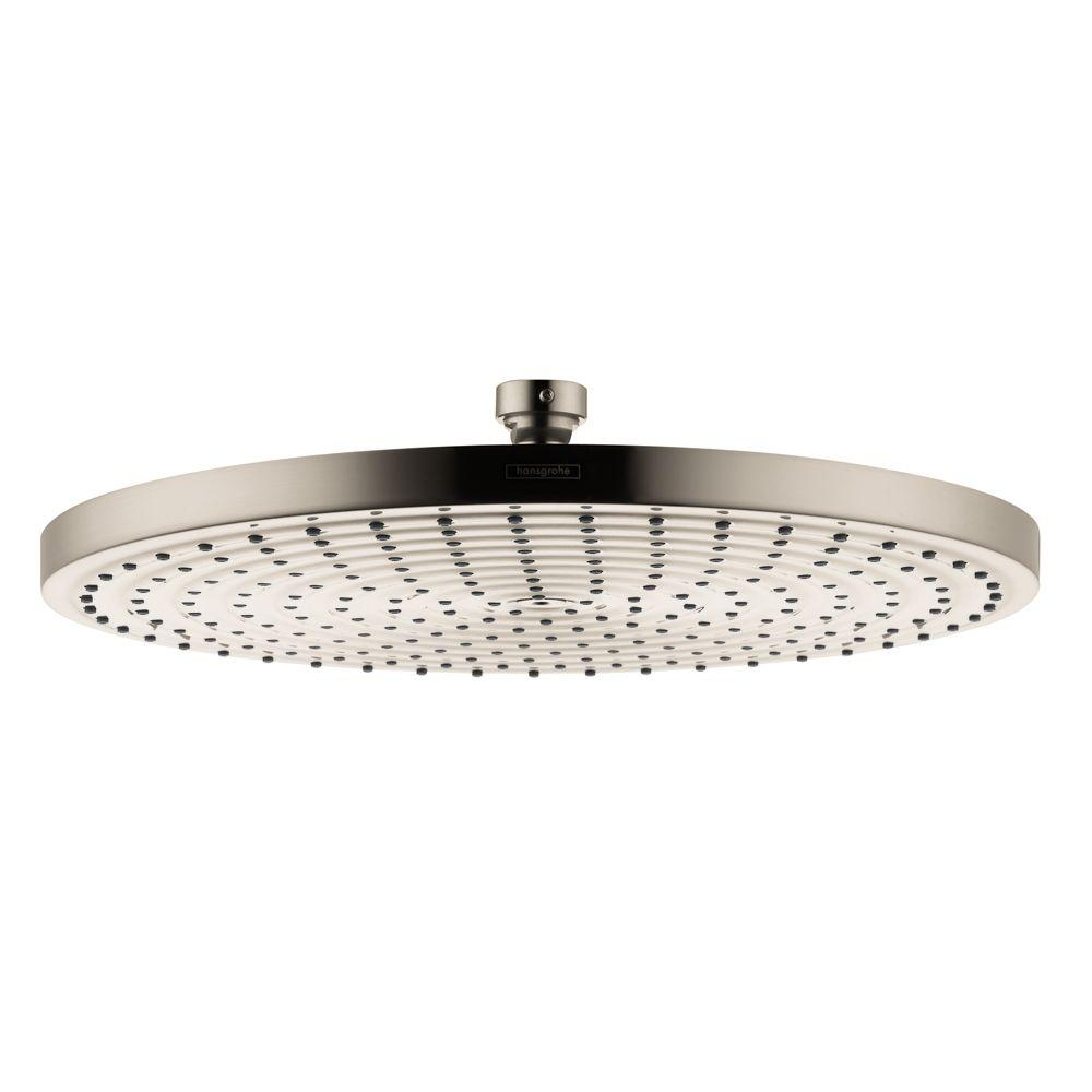 Hansgrohe Raindance 300 Air 1 Spray 12 In. Showerhead In Brushed Nickel