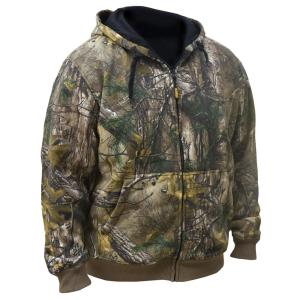Dewalt Unisex 2X-Large Real Tree Camo Hoodie with 20-Volt MAX and 12-Volt MAX Battery by DEWALT