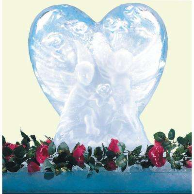 White Heart Ice Mold