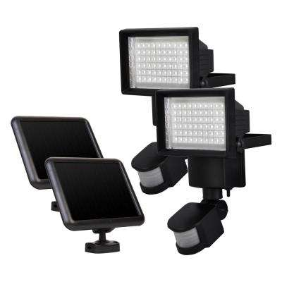 Outdoor Solar Motion 60-LED Light (2-Pack)