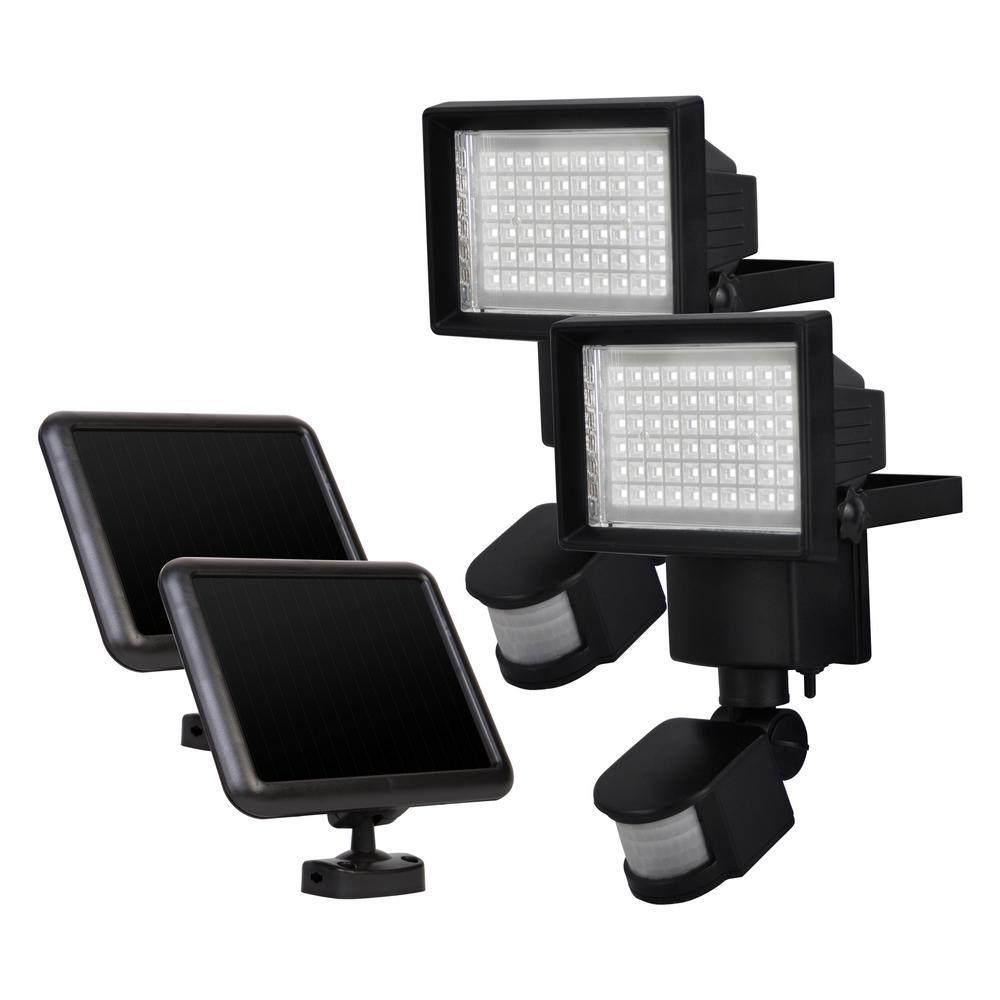 Outdoor Solar Motion 60-LED Light (2-Pack)
