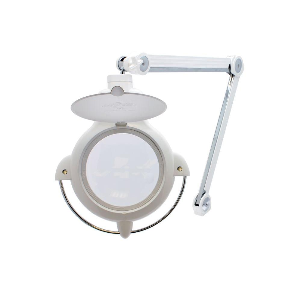 ProVue LED White Magnifying Lamp with UV 3 Diopter Lens