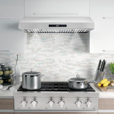 30 in. Ducted Under Cabinet Range Hood in Stainless Steel with Touch Display and Permanent Filters
