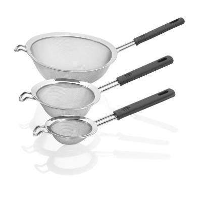 Steel 3-Piece Strainer