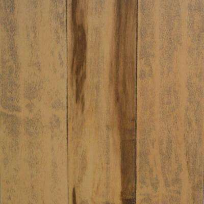 Take Home Sample - Hand Scraped Smoked Maple Natural Engineered Hardwood Flooring - 5 in. x 7 in.