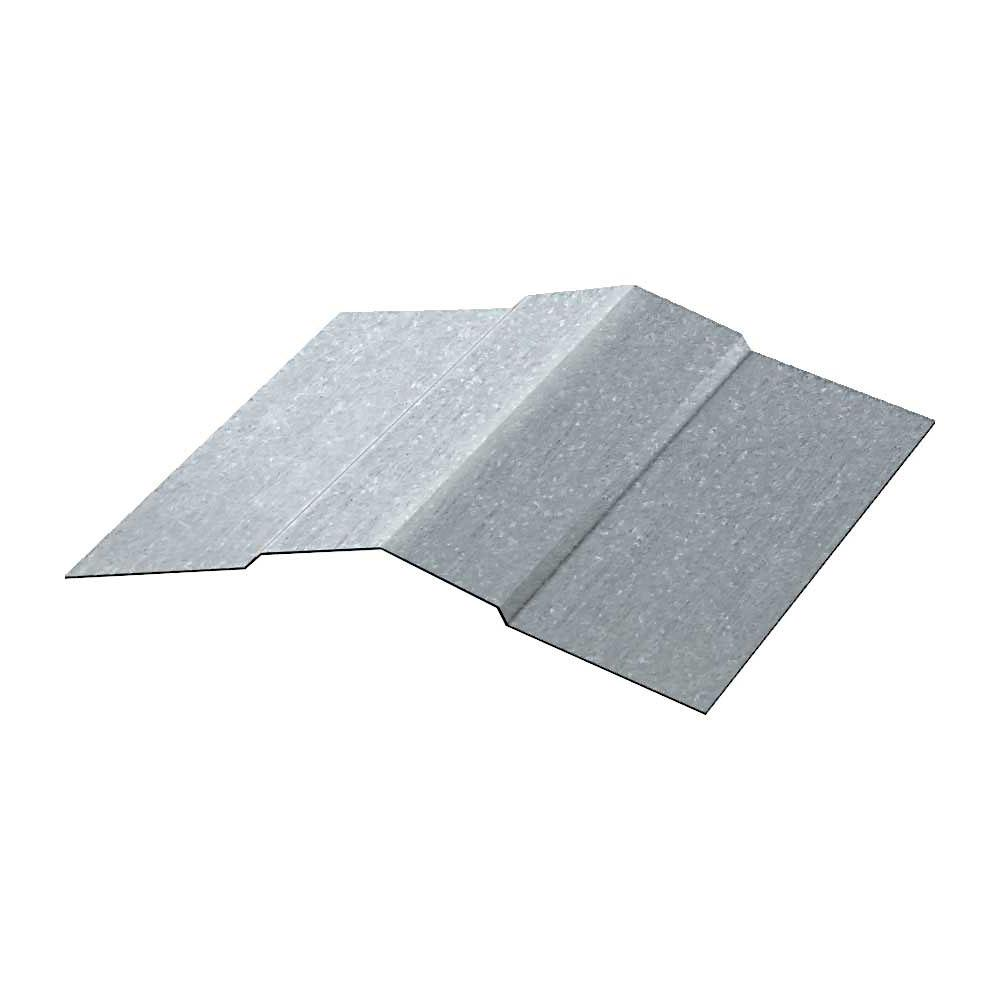 10 ft. Ridge Cap Galvalume Steel 29-Gauge Roof Flashing