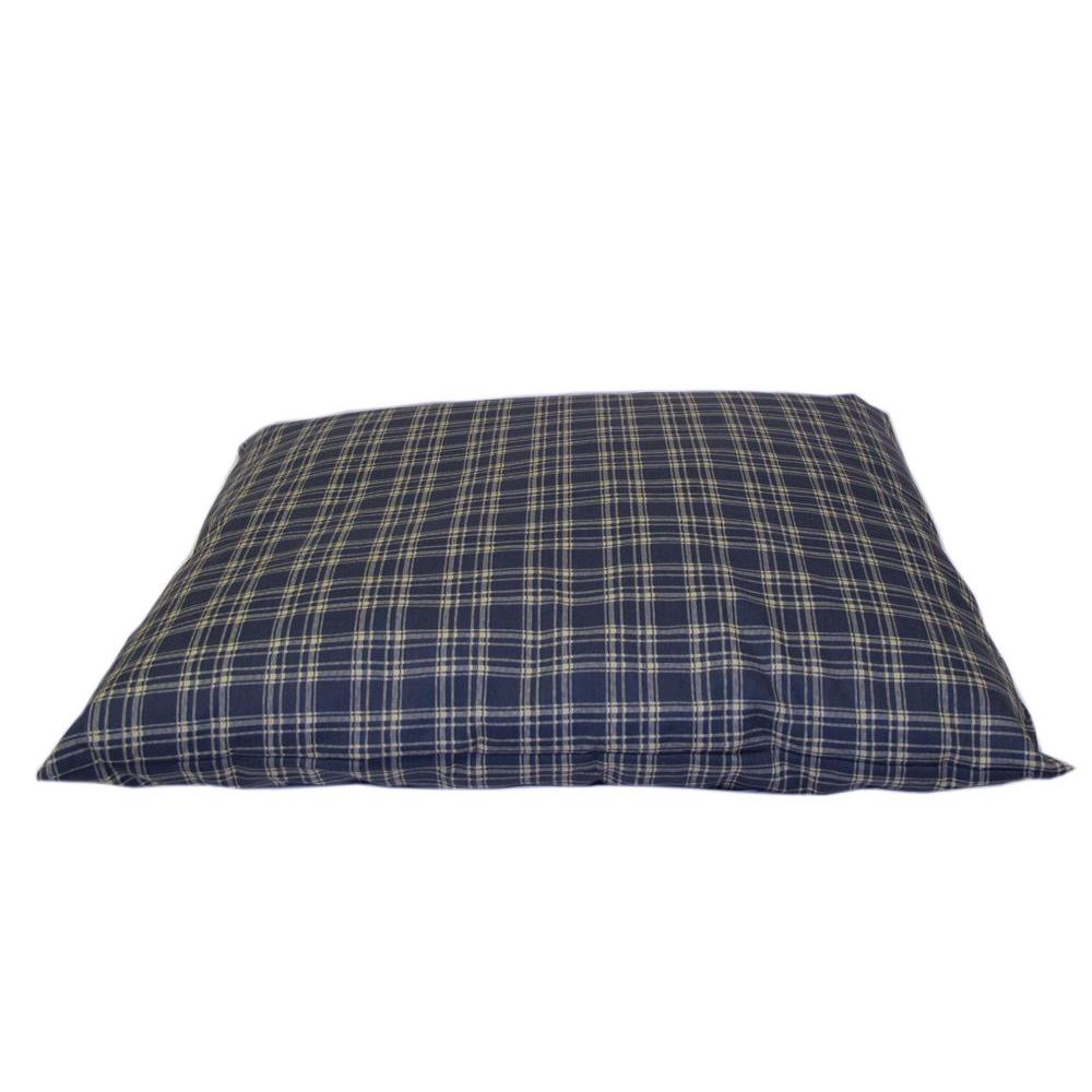 Large Blue Plaid Indoor/Outdoor Shebang Bed