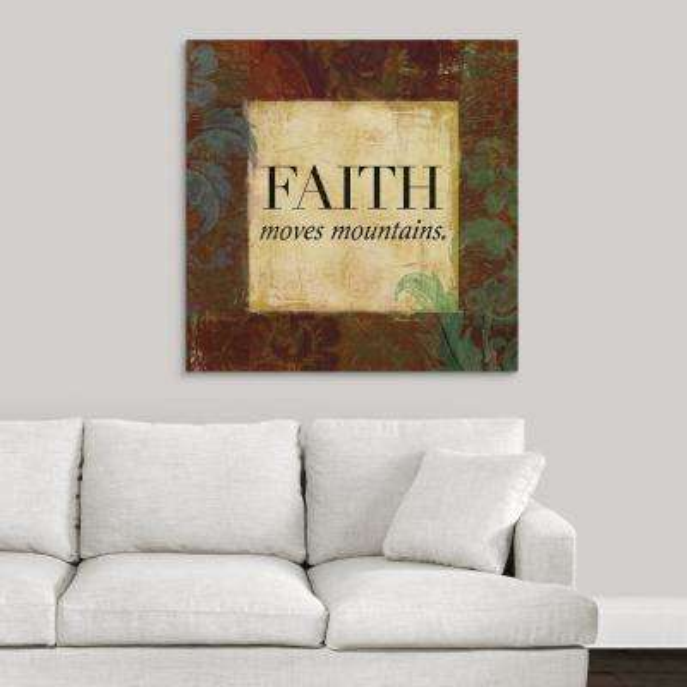 """Love and Faith II"" by Lucas Hunter Canvas Wall Art"