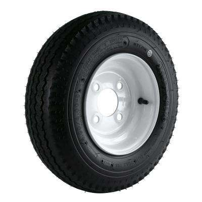 Loadstar 480/400-8 LRB 4-Hole Trailer Wheel