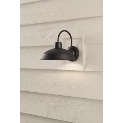 Bronze Outdoor LED Wall Lantern Sconce