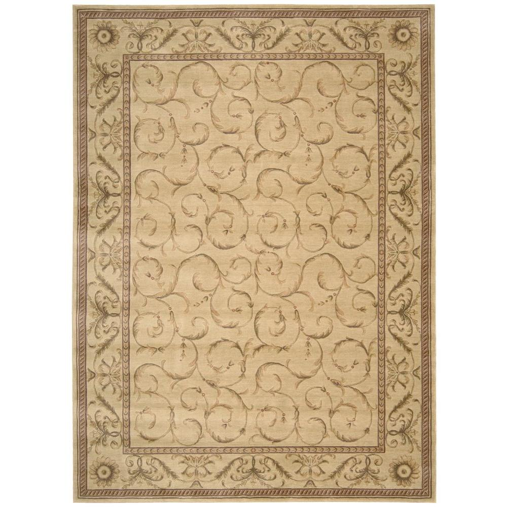 Nourison Somerset Ivory 7 ft. 9 in. x 10 ft. 10 in. Area Rug