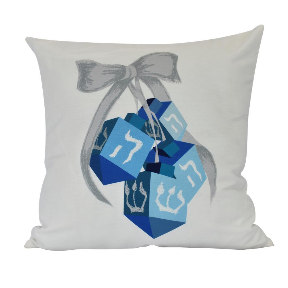 18 inch Turn, Turn, Turn Geometric Print Decorative Pillow by