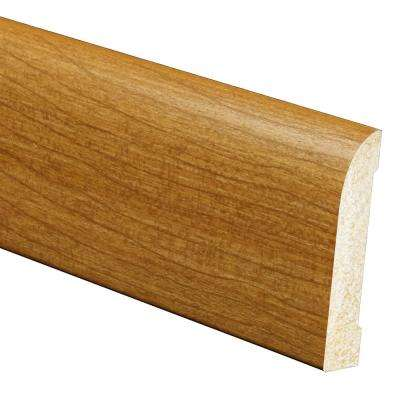 7/16 in. x 3-3/16 in. x 96 in. Polystyrene Russet Ranch Base Moulding (5-Pack)