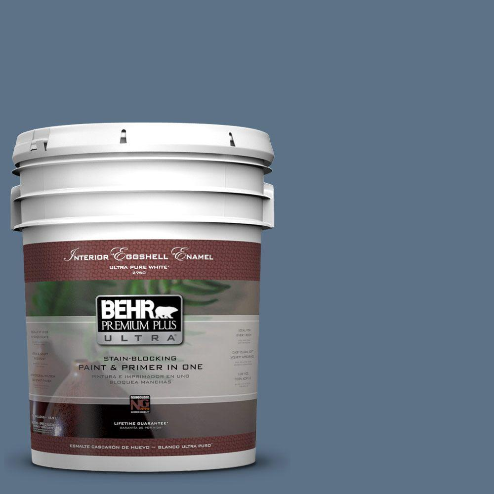 BEHR Premium Plus Ultra 5-gal. #580F-6 Lost Atlantis Eggshell Enamel Interior Paint