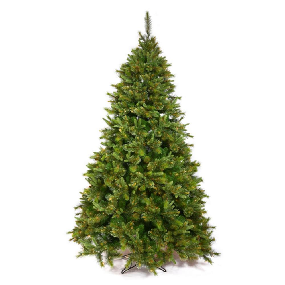 uk availability 1b468 e63e8 Northlight 6.5 ft. x 49 in. Cashmere Mixed Pine Full Artificial Christmas  Tree