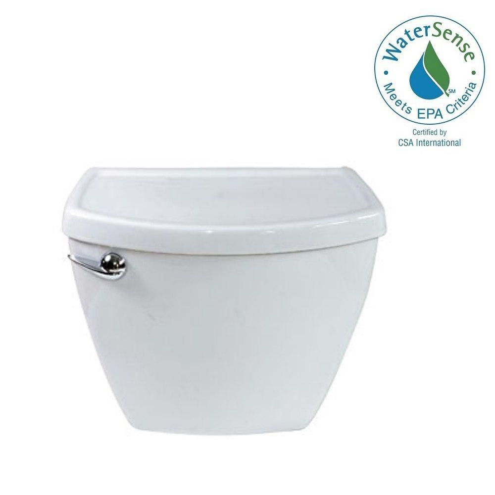 American Standard Cadet 3 1.28 GPF Single Flush Toilet Tank Only in ...