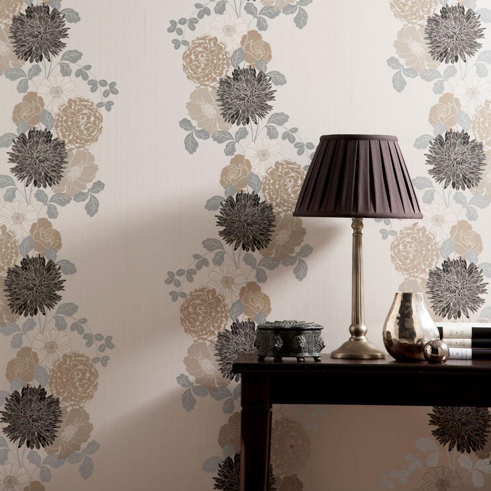 4 Graham Brown Adore Black Wallpaper