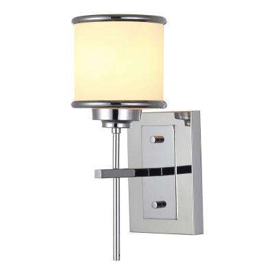 Max II 1-Light Chrome Sconce