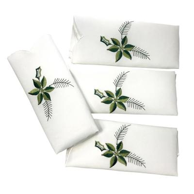 Candlelight 20 in. x 20 in. 100% Polyester Napkins (4-Pack)