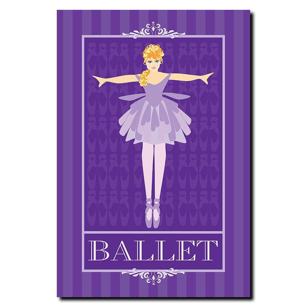 null 22 in. x 32 in. Ballet I Canvas Art