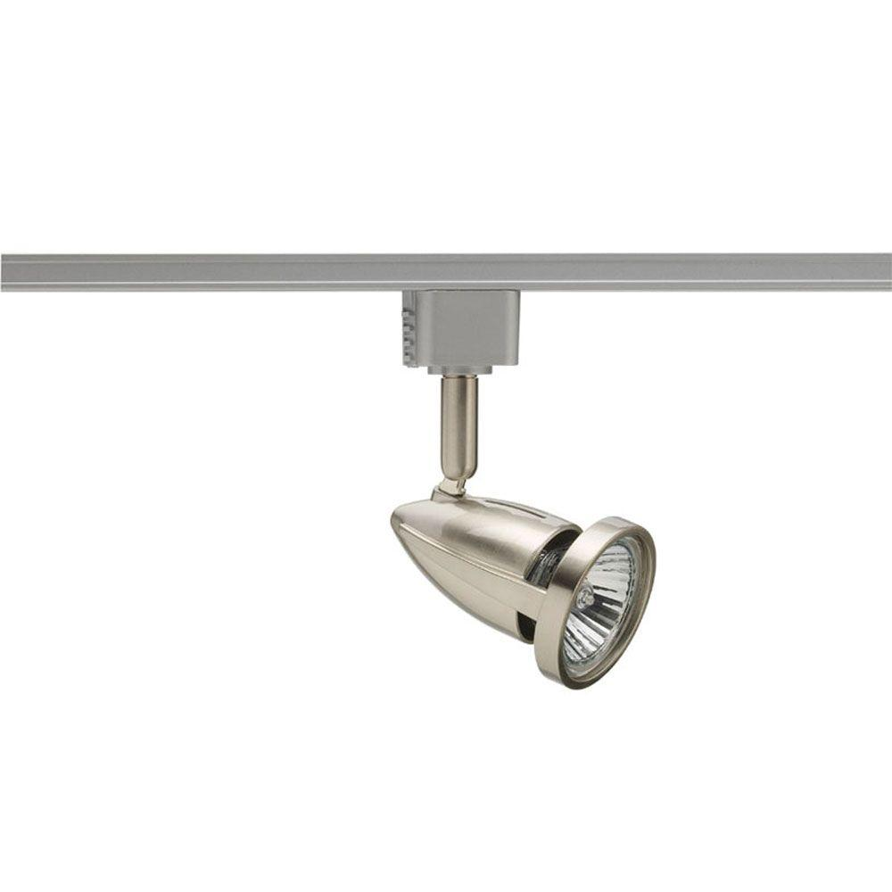 Chrome And Black Track Lighting: Juno Odyssey GU10 Satin Chrome Track Lighting Head-R717 SC