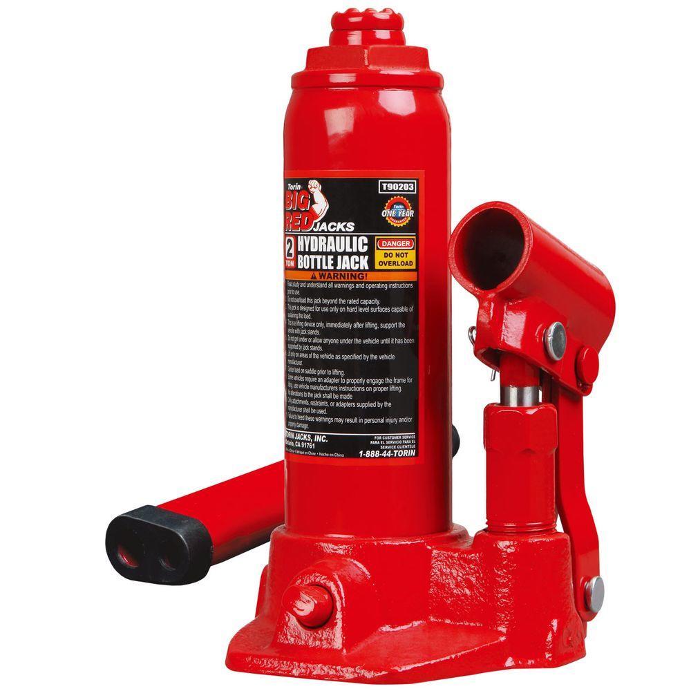 Big Red 2-Ton Torin Bottle Jack by Big Red