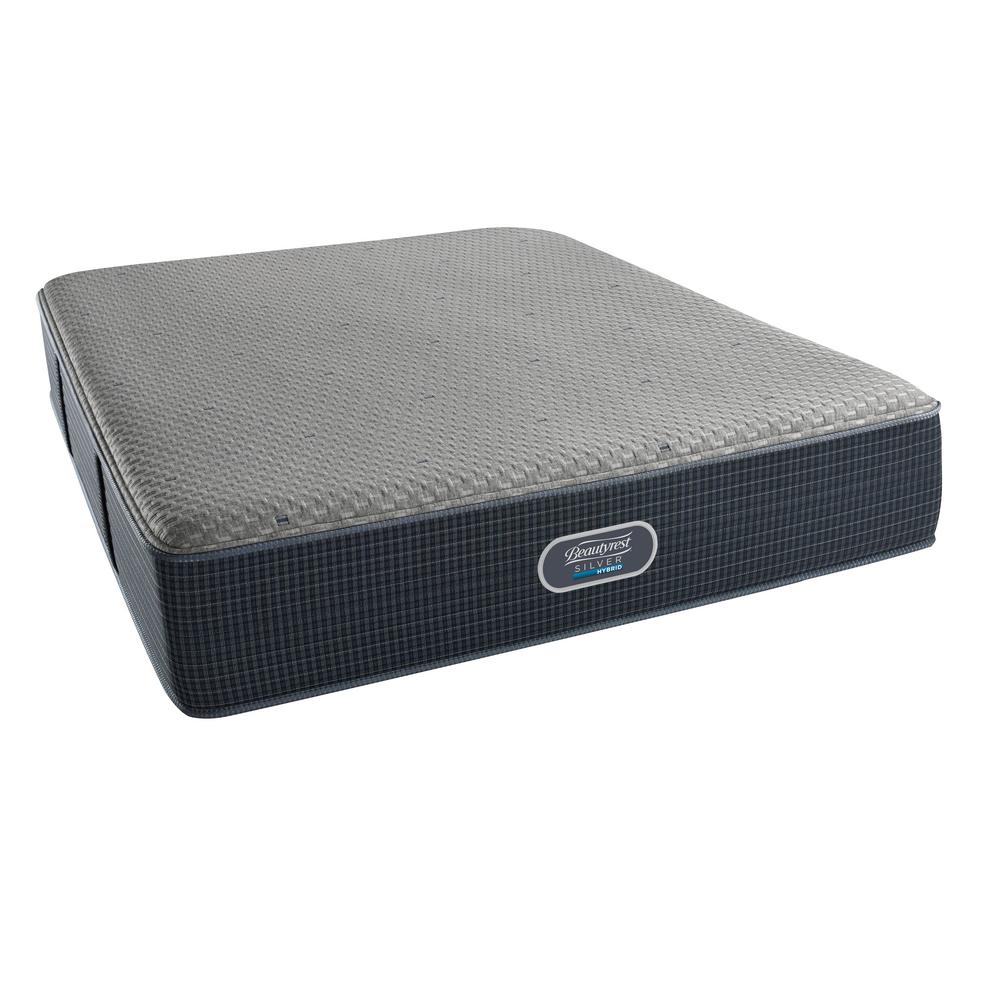 Beautyrest Silver Sierra Point Twin Plush Mattress