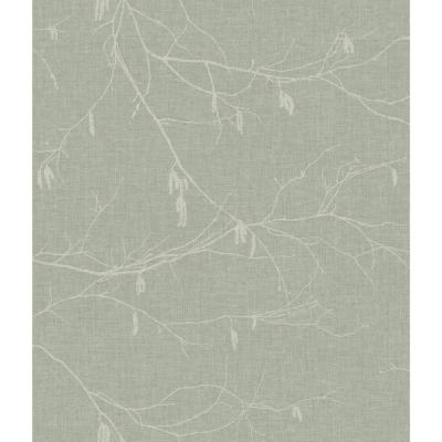 56 sq. ft. Winter Branches Wallpaper