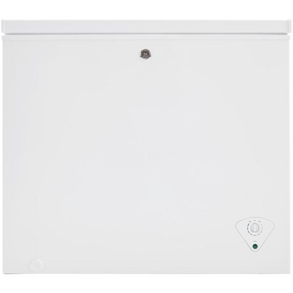Ge Garage Ready 7 0 Cu Ft Manual Defrost Chest Freezer In White Fcm7skww The Home Depot