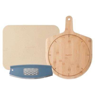 Leo Collection 3-Piece Pizza Set