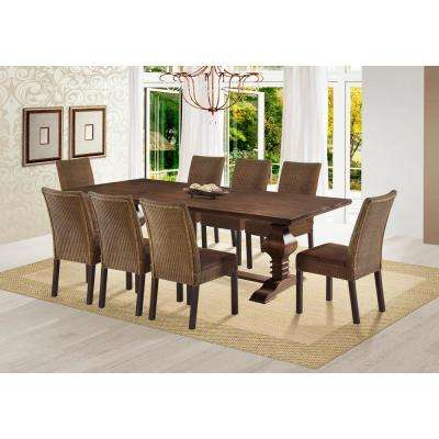 Tower 94 in. Cinnamon Dining Table