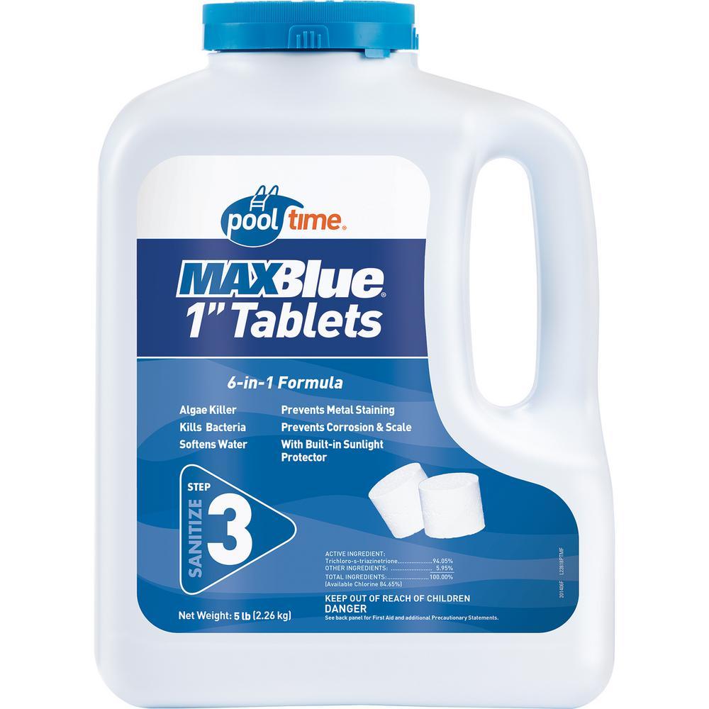 MAXBlue 5 lb. 1 in. Tablets