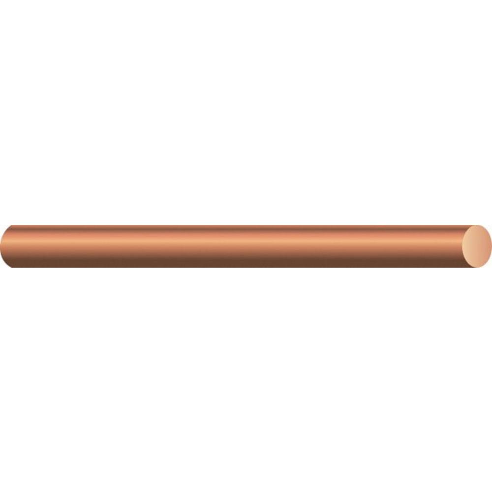 Southwire (By-the-Foot) 6-Gauge Solid SD Bare Copper Grounding Wire ...