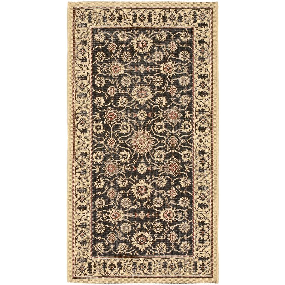 home depot outdoor rugs safavieh courtyard black 2 ft 7 in x 5 ft indoor 28790